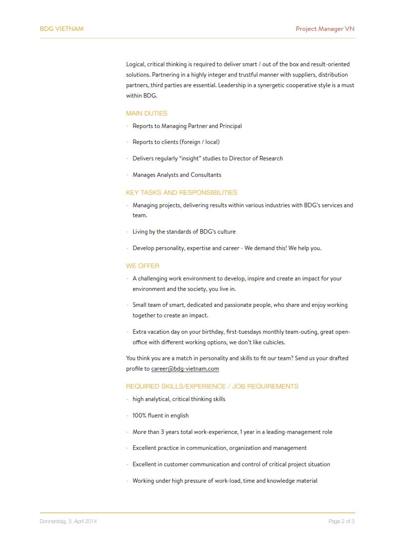 Project Management - BDG Vietnam 002