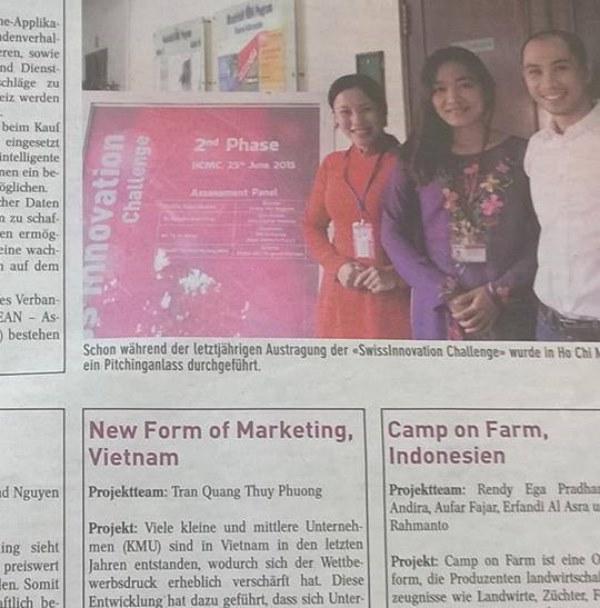 4 MBA MCI Swissinnovation team vn len bao