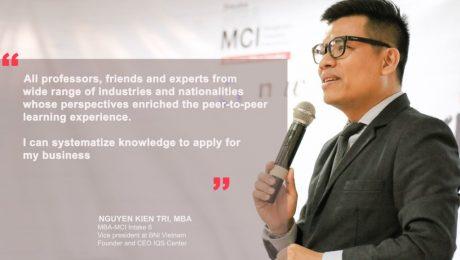 Testimonial anh Nguyen Kien Tri