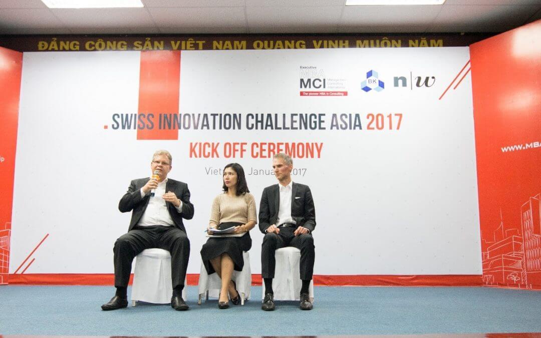 Khởi động cuộc thi Swiss Innovation 2017