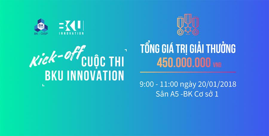Đại học Bách Khoa khởi động cuộc thi BKU Innovation 2018