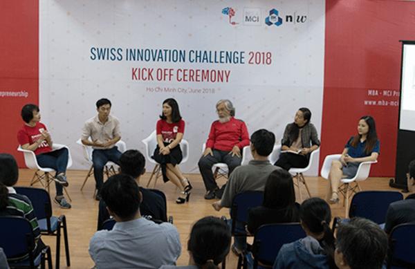 Lễ phát động cuộc thi Swiss Innovation Vietnam 2018