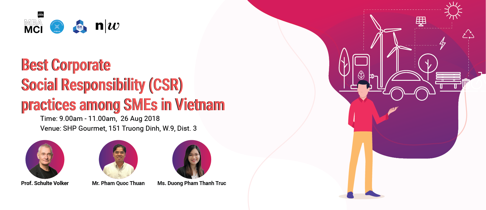 "Consulting Café ""Best Corporate Social Responsibility (CSR) practices among SMEs in Vietnam"""