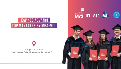 Info Day: How 4Cs advance top managers by MBA-MCI