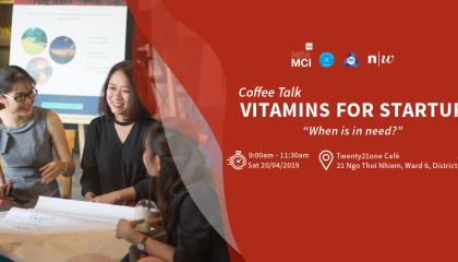 CoffeeTalk: Vitamins for Startup