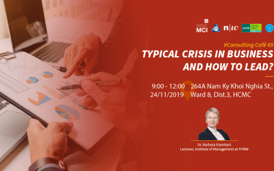 Consulting café 65: Typical crisis in business and how to lead.