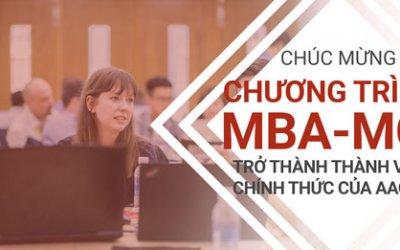 Chương trình MBA-MCI chính thức trở thành thành viên của Hiệp hội phát triển giảng dạy kinh doanh bậc đại học (AACSB)