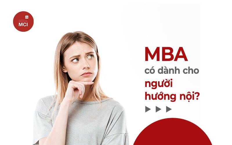 MBA có dành cho người hướng nội?