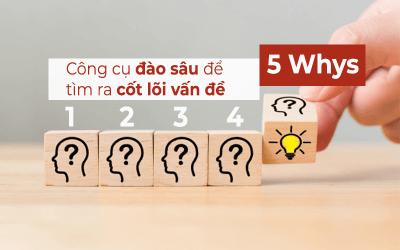 5 Whys – công cụ đào sâu để tìm ra cốt lõi vấn đề