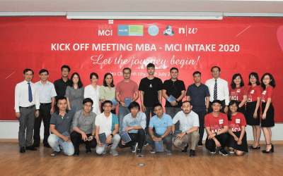 Chương trình MBA – MCI Kick-off meeting Intake 2020: Let the journey begin!