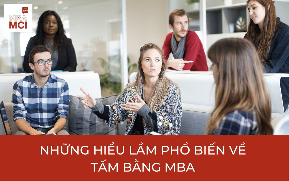 Những nhầm lẫn phổ biến về tấm bằng MBA