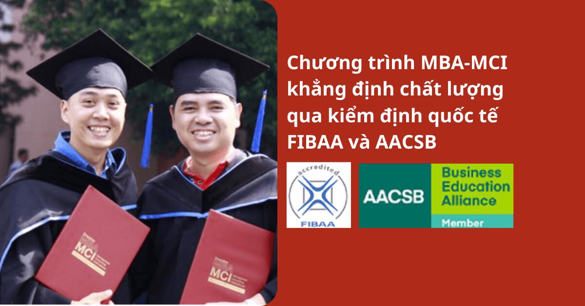 Chương trình MBA-MCI khẳng định chất lượng qua (2)
